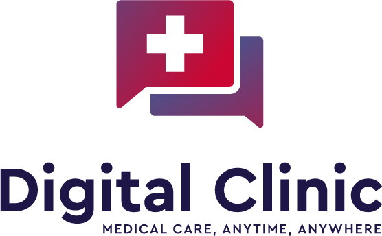 Digital Clinic Vertical logo